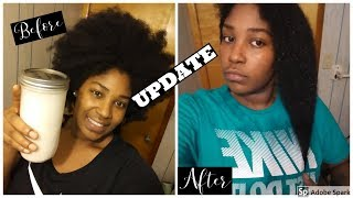 This happen to my hair after a week of using rice water!!!