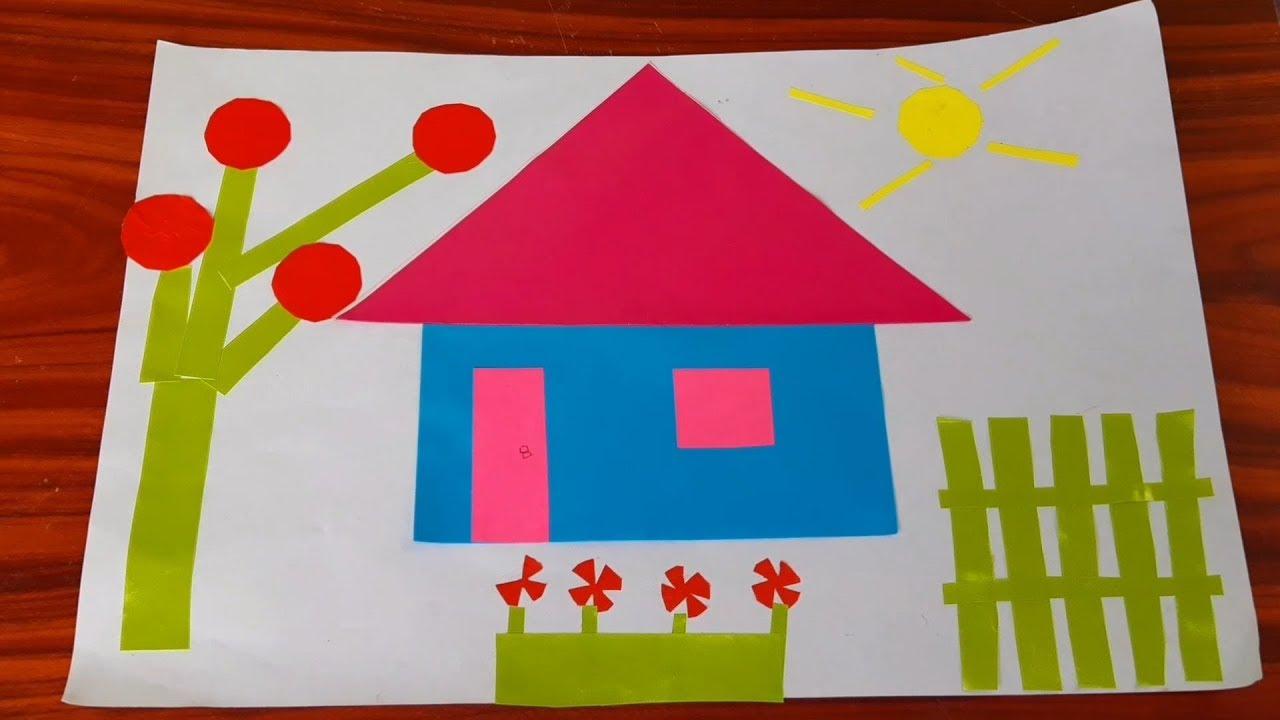 100 Gambar Lingkungan Rumah Untuk Anak Tk Gratis Gambar