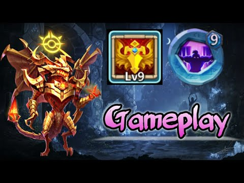 Zephryica | 9/9 Blade Dance | 9 Nimble In Action | GamePlay | Castle Clash
