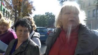 Пострадавшие от урагана в Таганроге