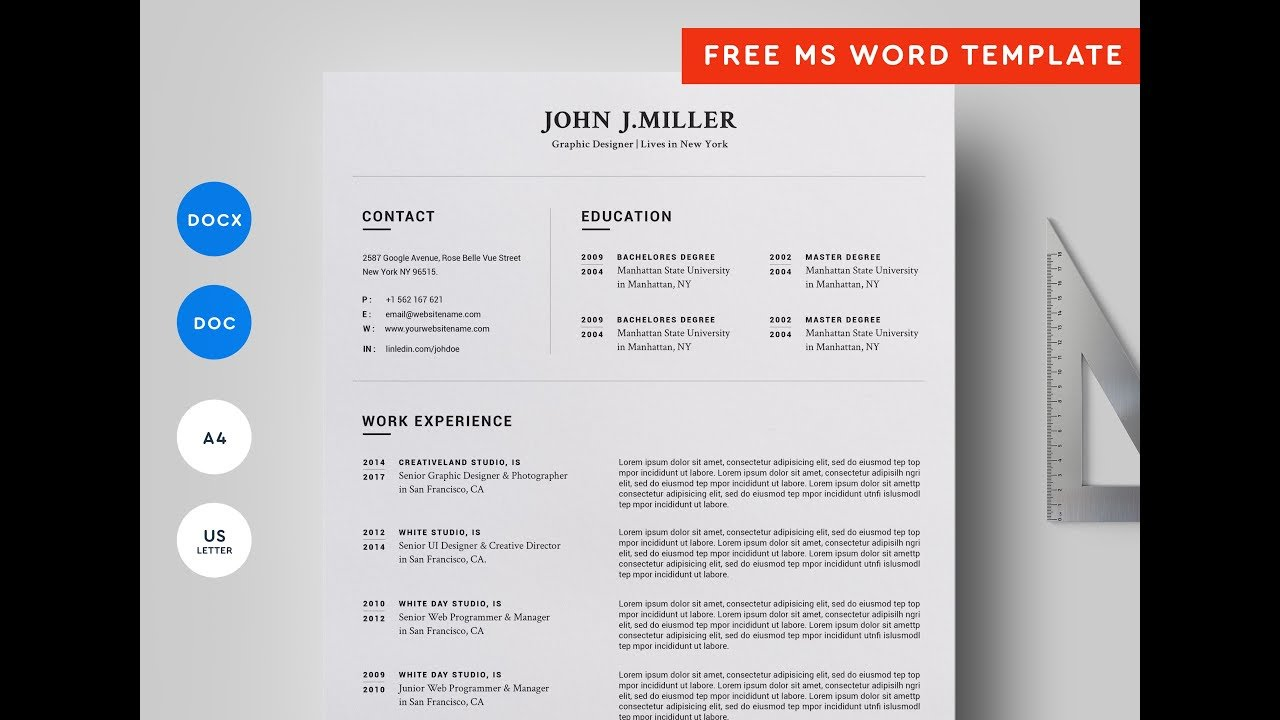 Resume Download To Watch - Resume Examples | Resume Template