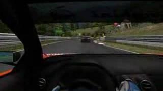Lambo vs. Lambo Nordschleife 24h. GTR2 PC Game Online Race
