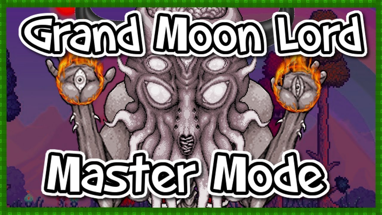 Grand Moon Lord Terraria Master Mode What Exactly Is It Youtube
