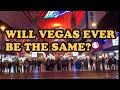 Driving Downtown Las Vegas 2019. 4K USA