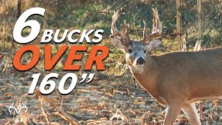 6 Bucks Over 160' | Hunting Whitetail Deer | Monster Buck Moments Presented by Sportsman's Guide