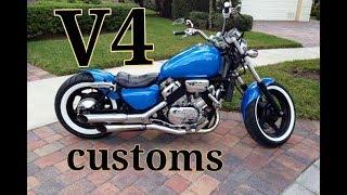 V-4 Custom Motorcycles !