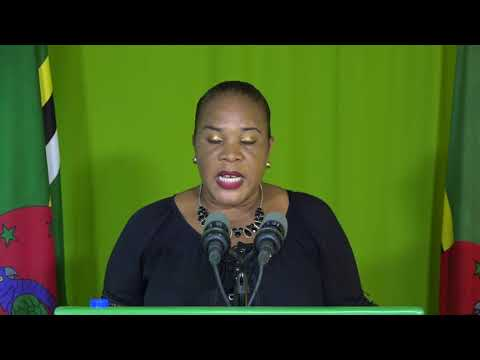 Oct. 20 - Press Briefing: Gloria Joseph - Permanent Secretary - Min. of Planning