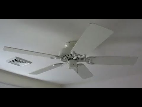Hunter Silent Breeze II ceiling fan - YouTube