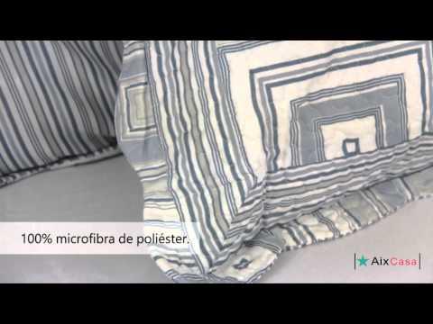 Colcha Patchwork Microfibra Madras - Camesa