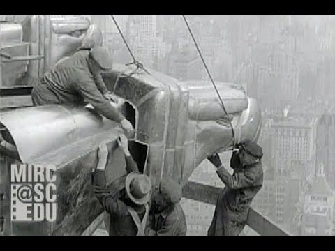 Construction Workers On The Chrysler Building, 1929-1930