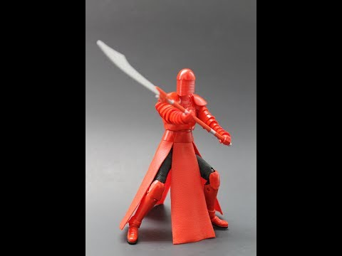 REVIEW: Star Wars Black Series Elite Praetorian Guard 6 Inch Action Figure
