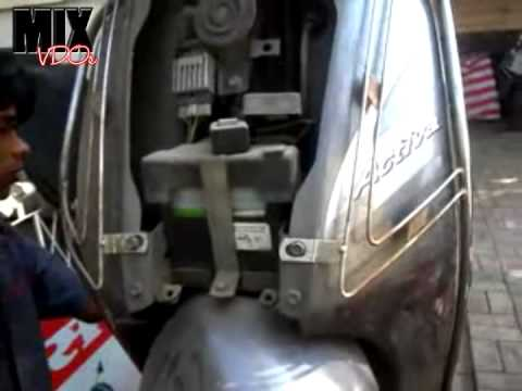 Honda Activa How To Open The Front Panel And Remove