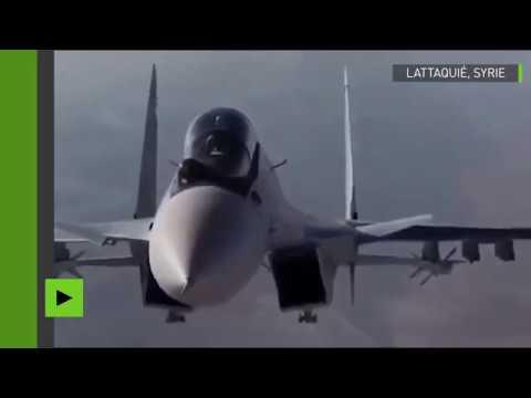 Incroyable manœuvre d'un chasseur russe dans le ciel de Syrie