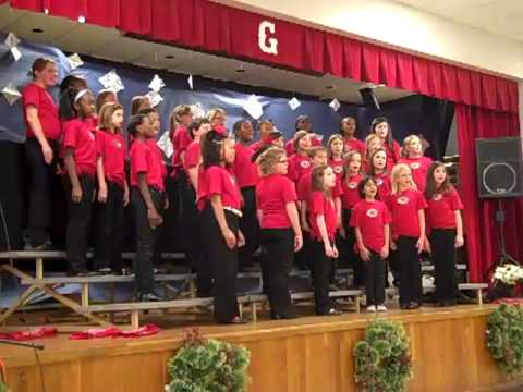The Best Gift of All:GES chorus(Joyful voices)