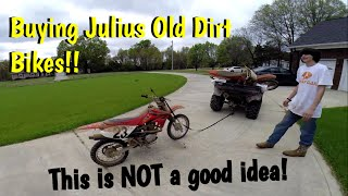 More Project Bikes!? Plus A Bad way to haul A dirt bike?!?