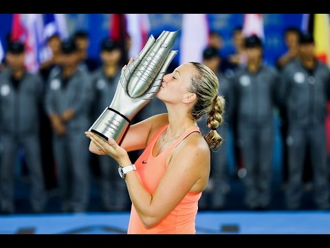 2016 Wuhan Open Final | Petra Kvitova vs Dominika Cibulkova | WTA Highlights