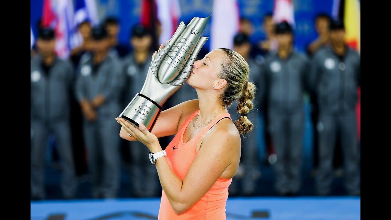 Kvitova se lleva facil el título ante Cibulkova.