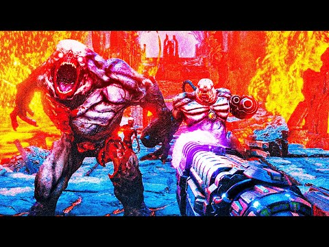 DOOM ETERNAL-БОЛЬНО,НО ОЧЕНЬ ПРИЯТНО!!![Обзор игры/Doom Eternal обзор/дум этернал]