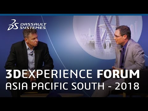 3DEXPERIENCE Forum Asia Pacific South 2018 - Digital Transformation in Mining - Dassault Systèmes
