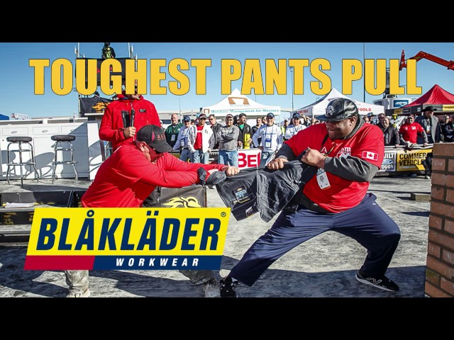 Blaklader Tough Pants Contest at the 2017 SPEC MIX BRICKLAYER 500® World Championship