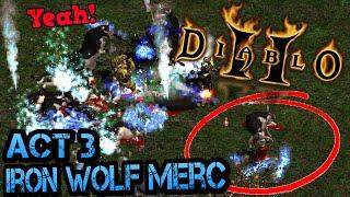 Project Diablo 2 - IRON WOLF Merc DESTROYS COW LEVEL!!