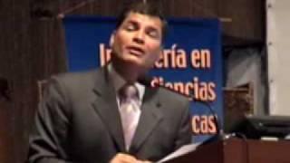 PRESIDENTE RAFAEL CORREA EN LA EPN 3 /11