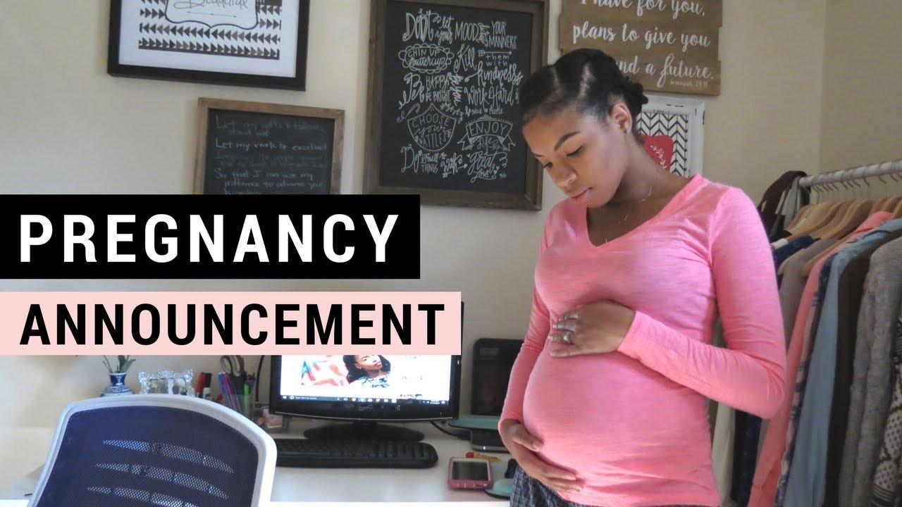 Pregnancy Announcement + Weird Symptoms