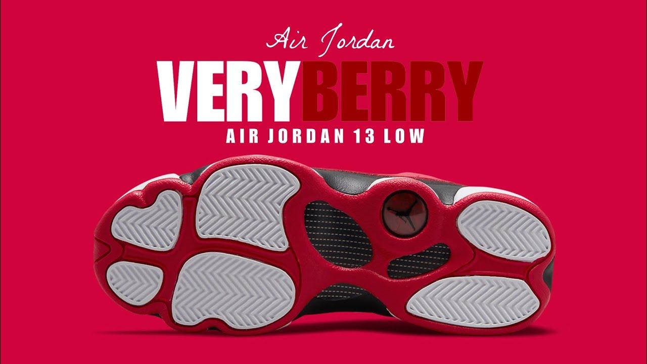 VERY BERRY 2021 Air Jordan 13 Low GS DETAILED LOOK, PRICE RELEASE DATE