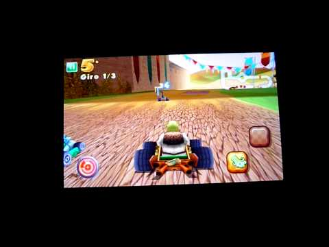 Gameplay Shrek kart HD per Bada Wave S8500 - www.Badaitalia.com