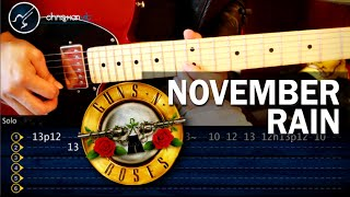 """Cómo tocar """"November Rain"""" de Guns N"""