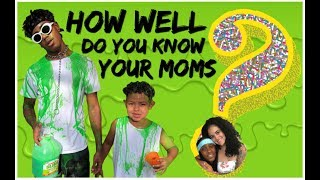How well do you know your moms? [ SLIME EDITION]