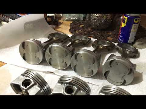 Removing Seized Piston Rings