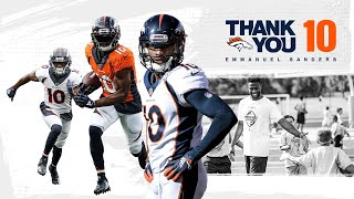 Remembering Emmanuel Sanders' Broncos career