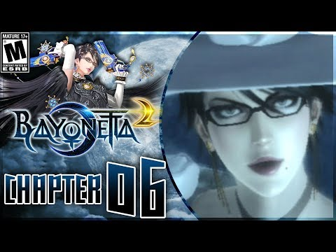 Bayonetta 2: Chapter 6 - The Bridge to the Heavens - Walkthrough on Nintendo Switch! - 동영상