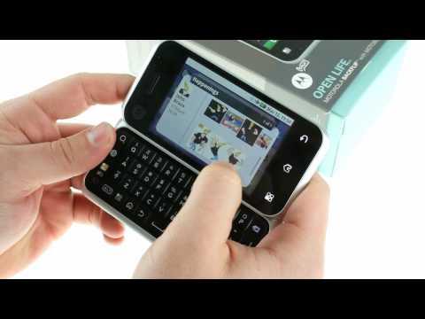 Motorola BACKFLIP demo