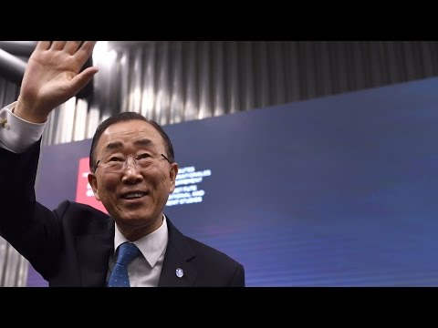 Ban Ki-moon on the state of the world