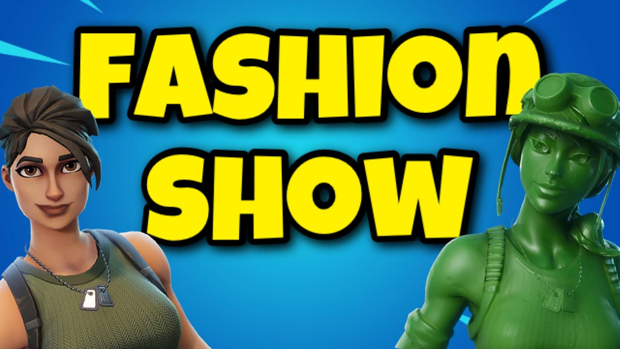Fortnite Fashion Show LIVE with Subscribers (Europe) | 1k V-Buck Giveaway at 5,000 Subscribers