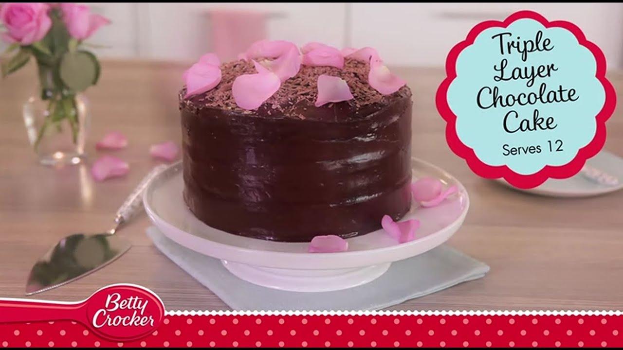 Cake recipe by betty crocker