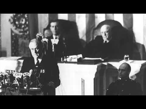 """FDR: """"A date which will live in infamy ..."""""""