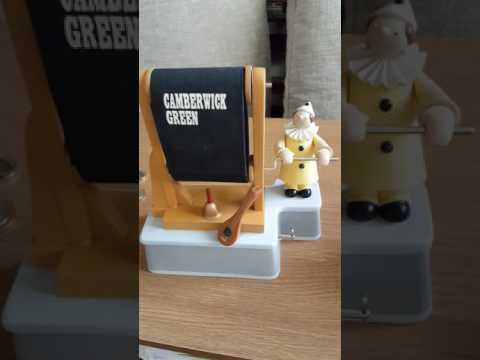Camberwick Green Collectables. The Clown rolling the Titles.Musical Box