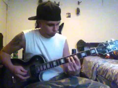 Damageplan crawl guitar cover