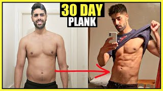 I did the plank everyday for 30 days (RESULTS!!)