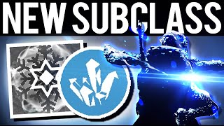 NEW ICE SUBCLASS GAMEPLAY ALL CLASSES - Destiny 2