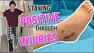 MY ANKLE RECOVERY JOURNEY | Athlete Motivation Video
