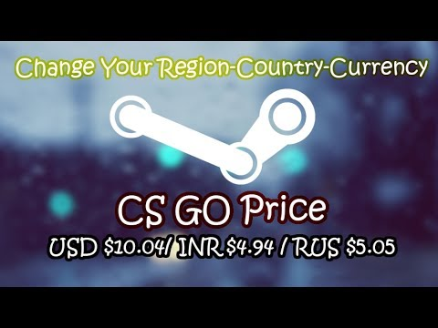 How To Change Your Steam Region - Country - Currency , PC Master Race !! [WASDB]