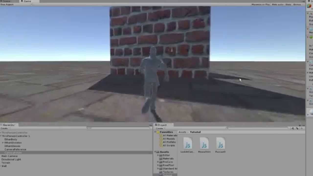 [TUTORIAL] 3rd Person Dynamic Camera | Unity3D