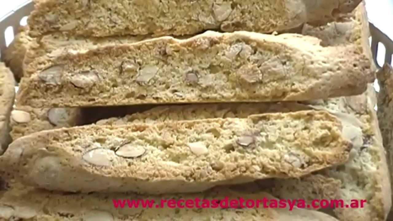 Biscotti - Cantuccini - Recetas de Tortas YA!