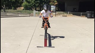 7 Yr Old Freestyle Bmx Rider, Caiden Cernius