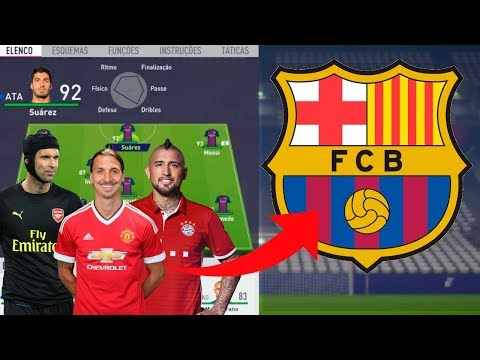 RECONSTRUINDO O BARCELONA - FIFA 18 - MODO CARREIRA - (SERIE NOVA) | LucasdsCordeiro