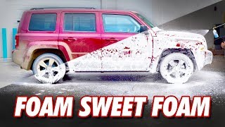 Muddy Jeep vs. Foam Cannon | DETAILS WITH LEVI